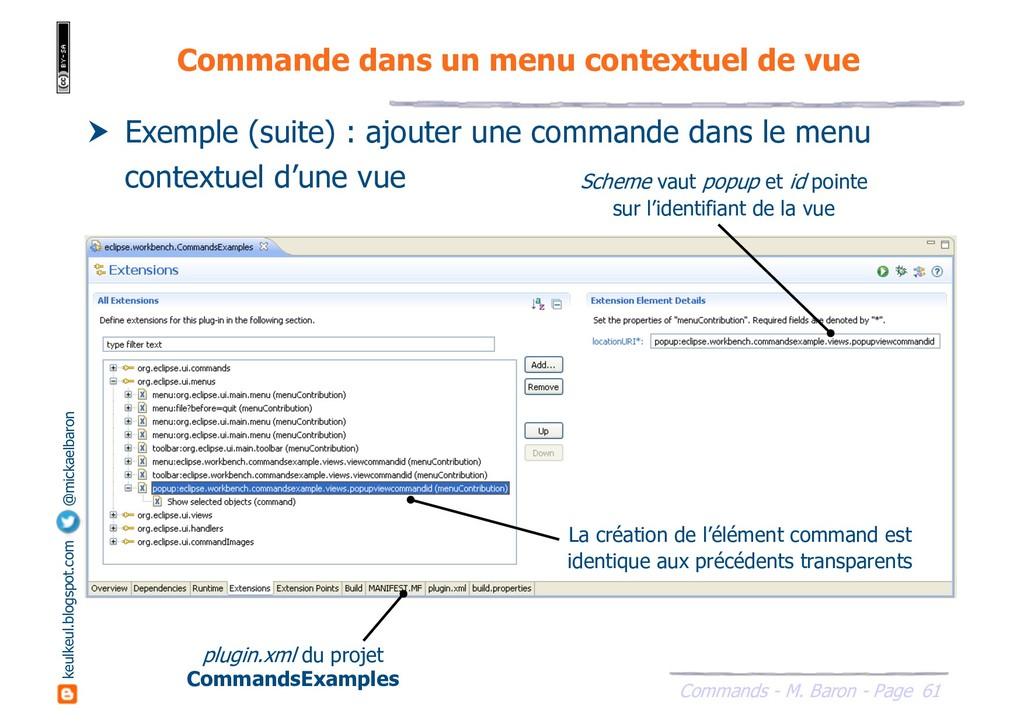 61 Commands - M. Baron - Page keulkeul.blogspot...