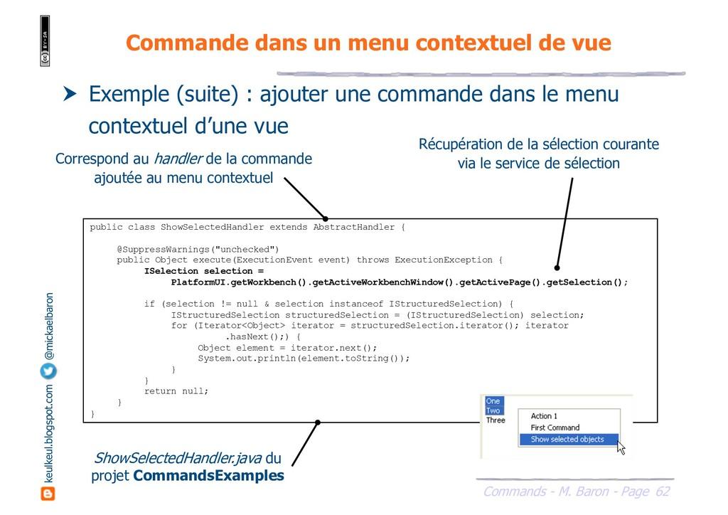 62 Commands - M. Baron - Page keulkeul.blogspot...
