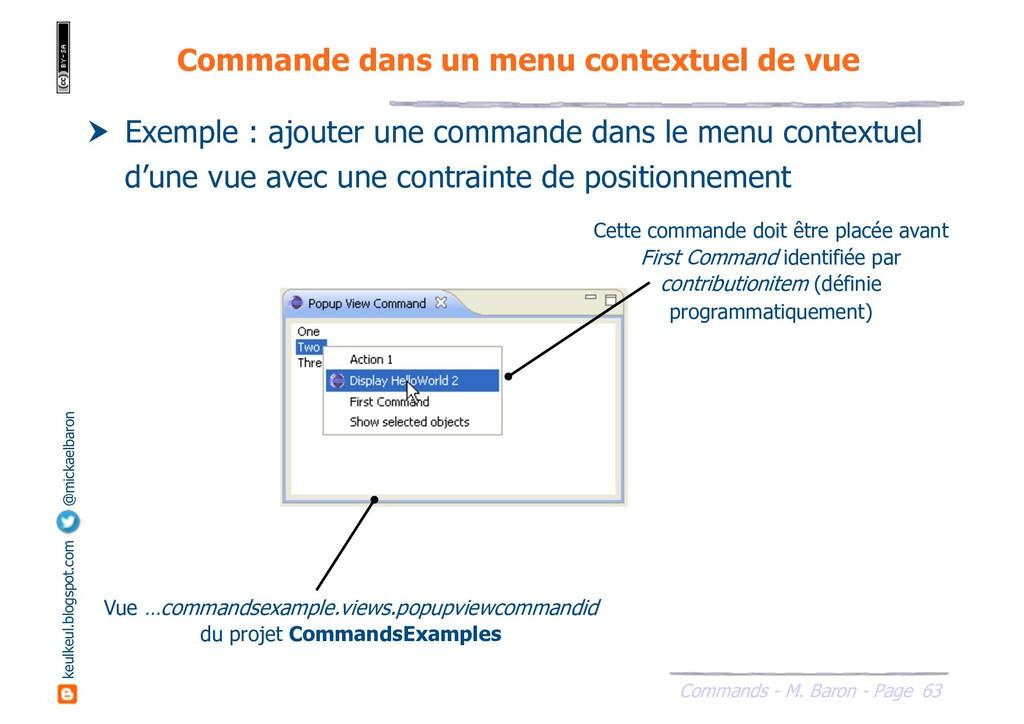 63 Commands - M. Baron - Page keulkeul.blogspot...