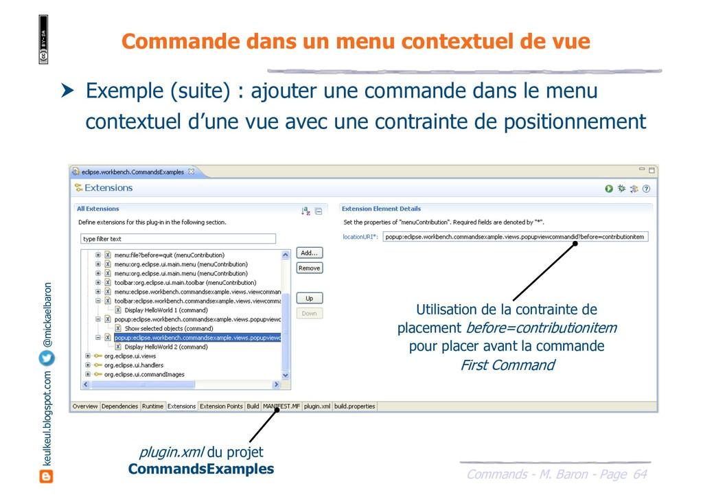 64 Commands - M. Baron - Page keulkeul.blogspot...