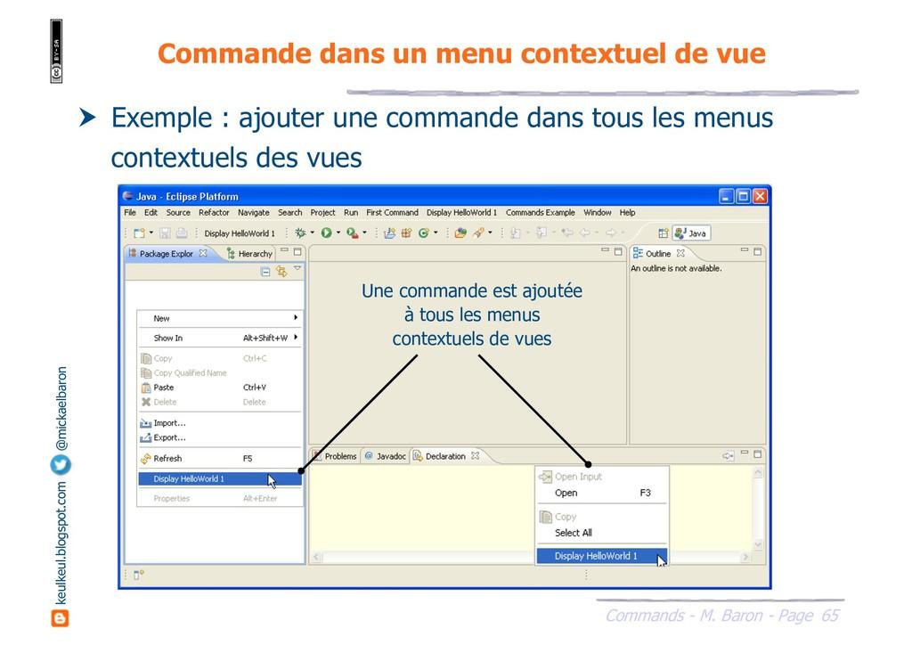 65 Commands - M. Baron - Page keulkeul.blogspot...