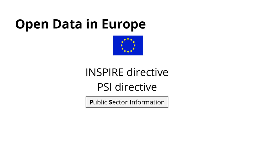 Open Data in Europe Public Sector Information I...