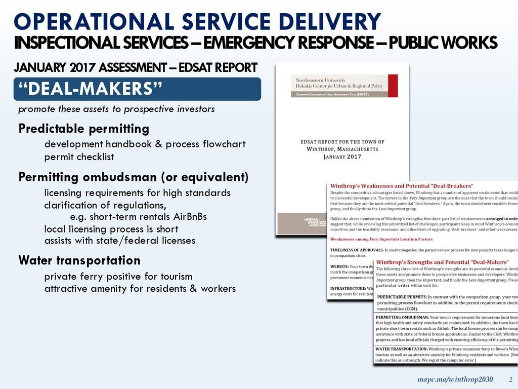 mapc.ma/winthrop2030 2 INSPECTIONAL SERVICES –E...