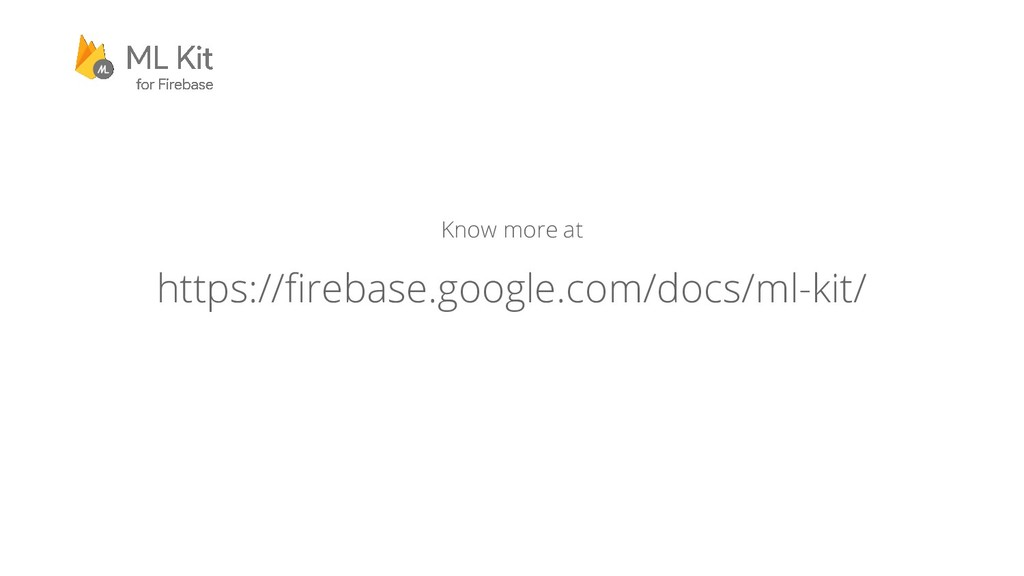 Know more at https://firebase.google.com/docs/m...