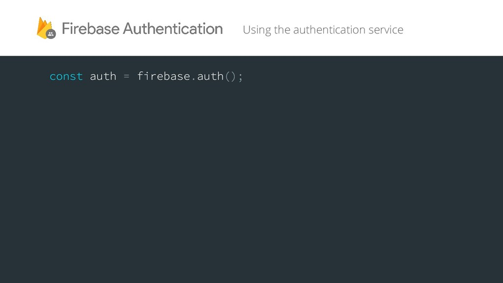 Using the authentication service