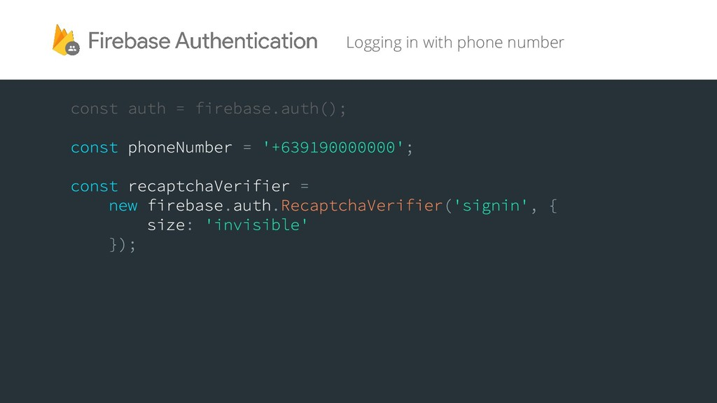 Logging in with phone number