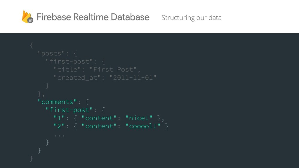 Structuring our data
