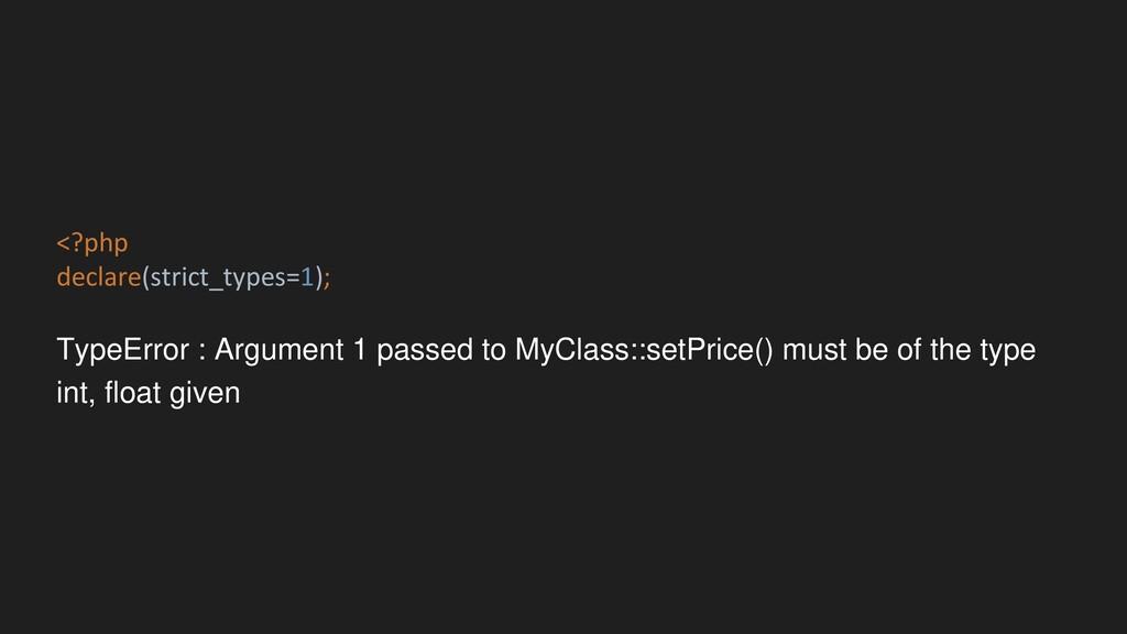 <?php declare(strict_types=1); TypeError : Argu...