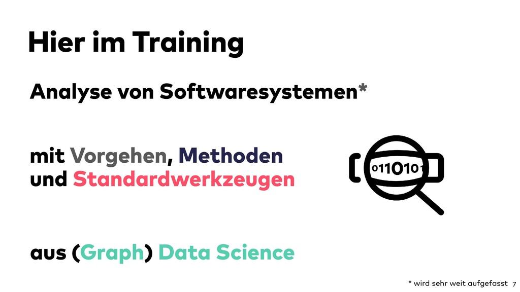 Analyse von Softwaresystemen* 7 aus (Graph) Dat...