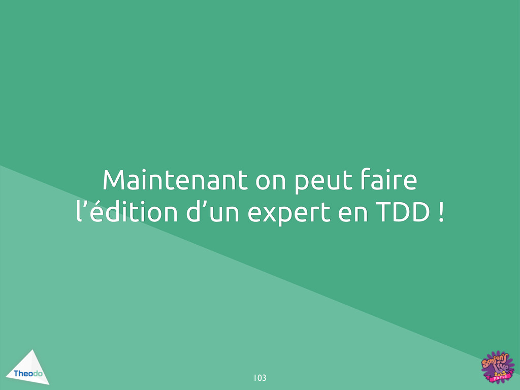 Maintenant on peut faire l'édition d'un expert ...