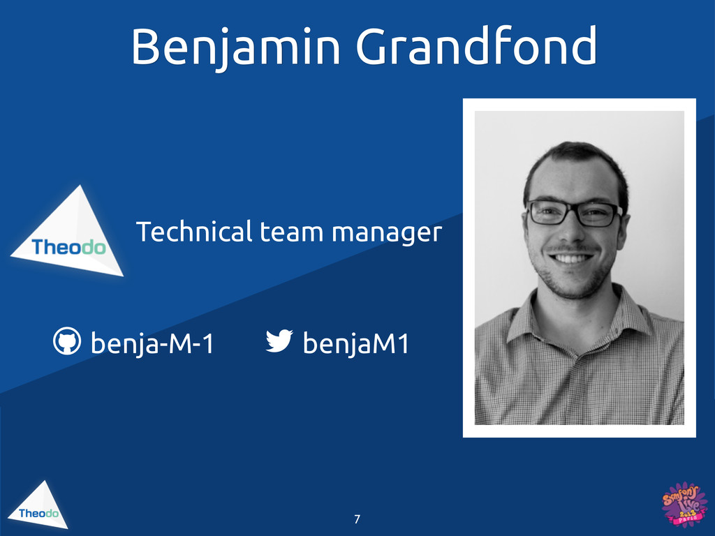 Benjamin Grandfond Technical team manager  ben...