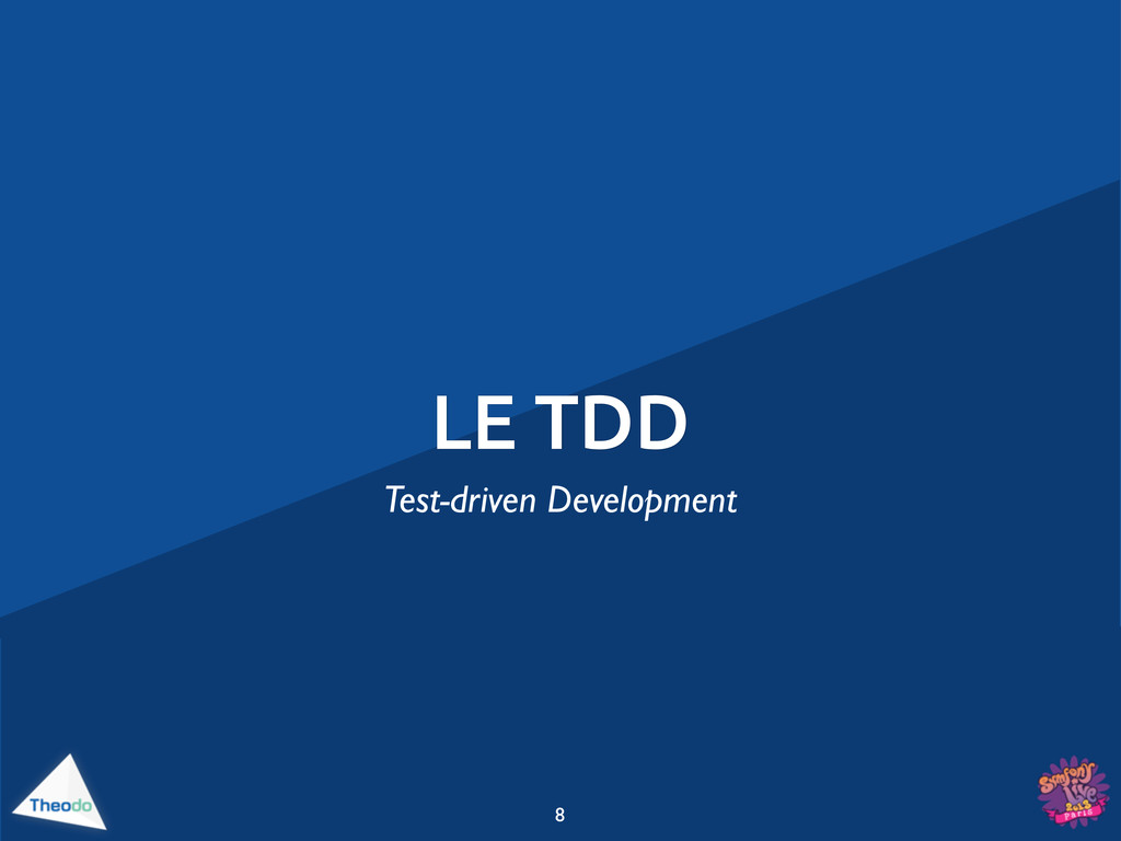 LE TDD 8 Test-driven Development