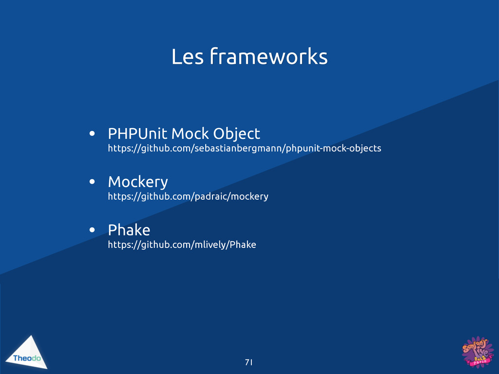 71 • PHPUnit Mock Object https://github.com/seb...