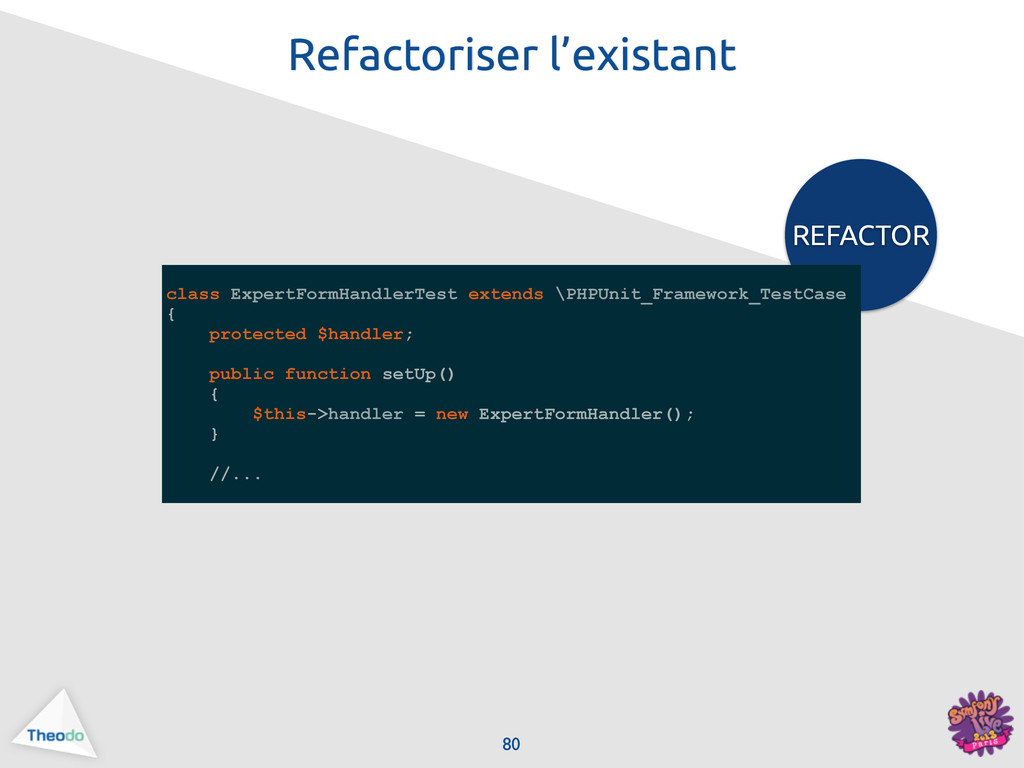 REFACTOR class ExpertFormHandlerTest extends \P...