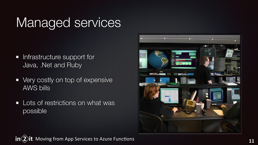 Managed services Infrastructure support for Jav...