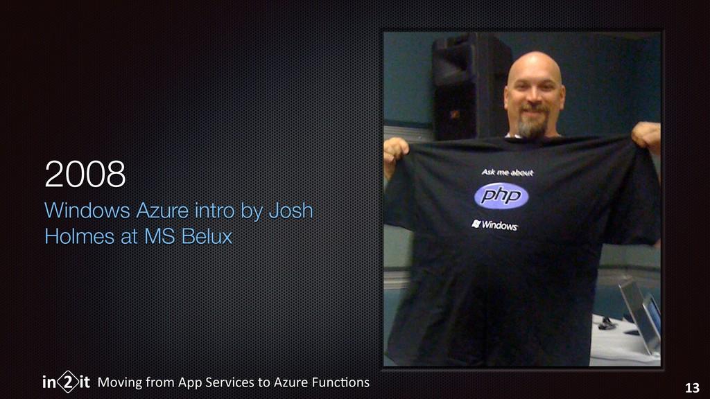 2008 Windows Azure intro by Josh Holmes at MS B...