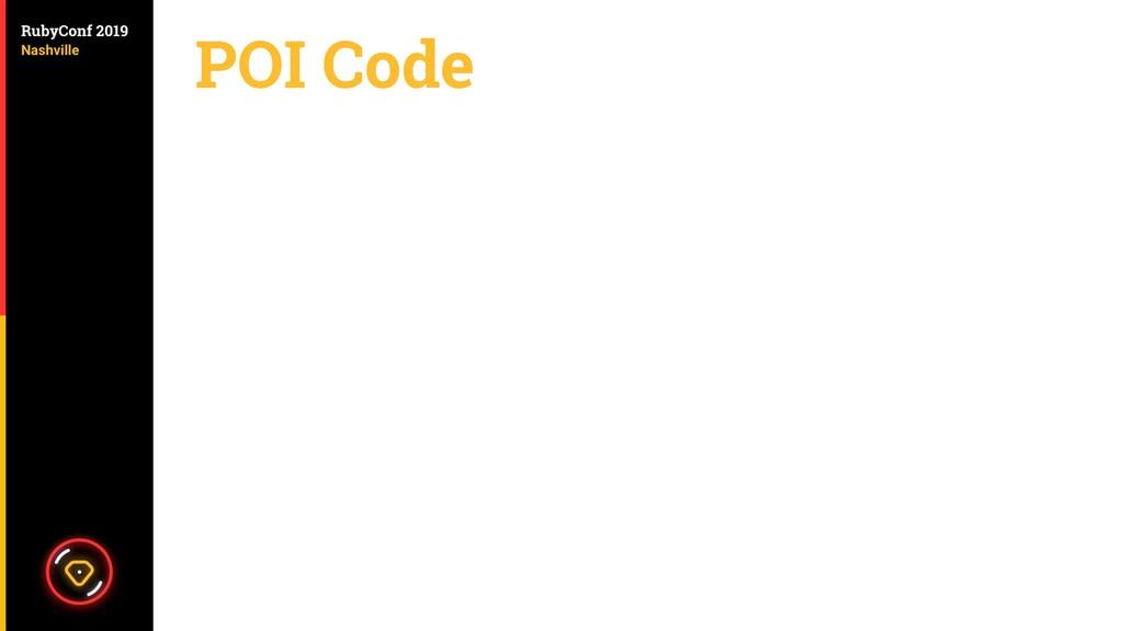 POI Code
