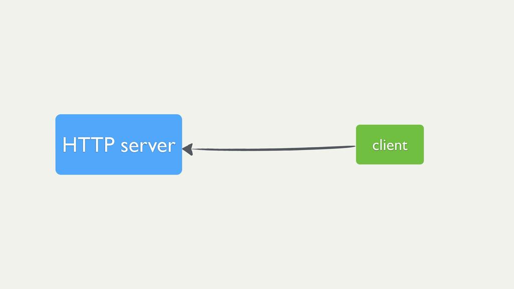client HTTP server