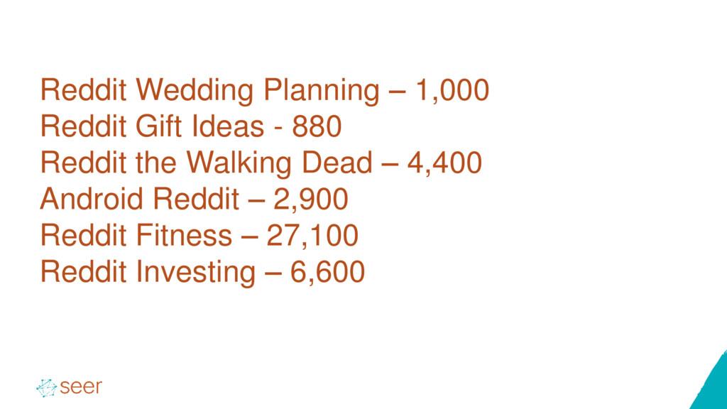 Reddit Wedding Planning – 1,000 Reddit Gift Ide...