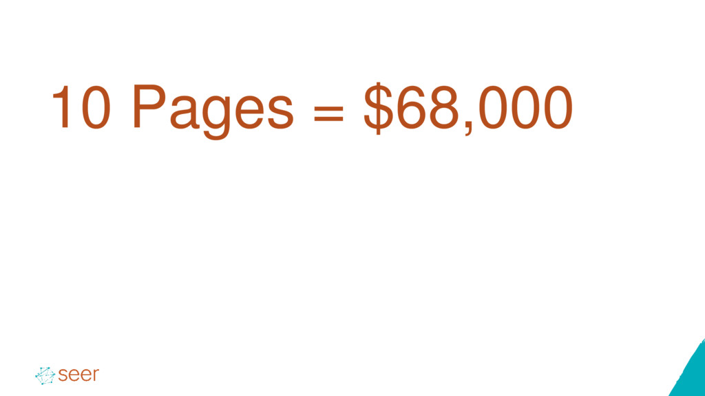 10 Pages = $68,000
