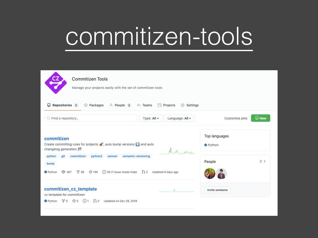 commitizen-tools