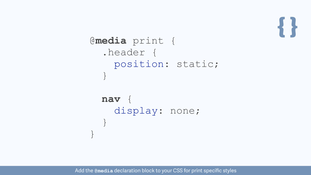 { } nav { display: none; } @media print { } .he...