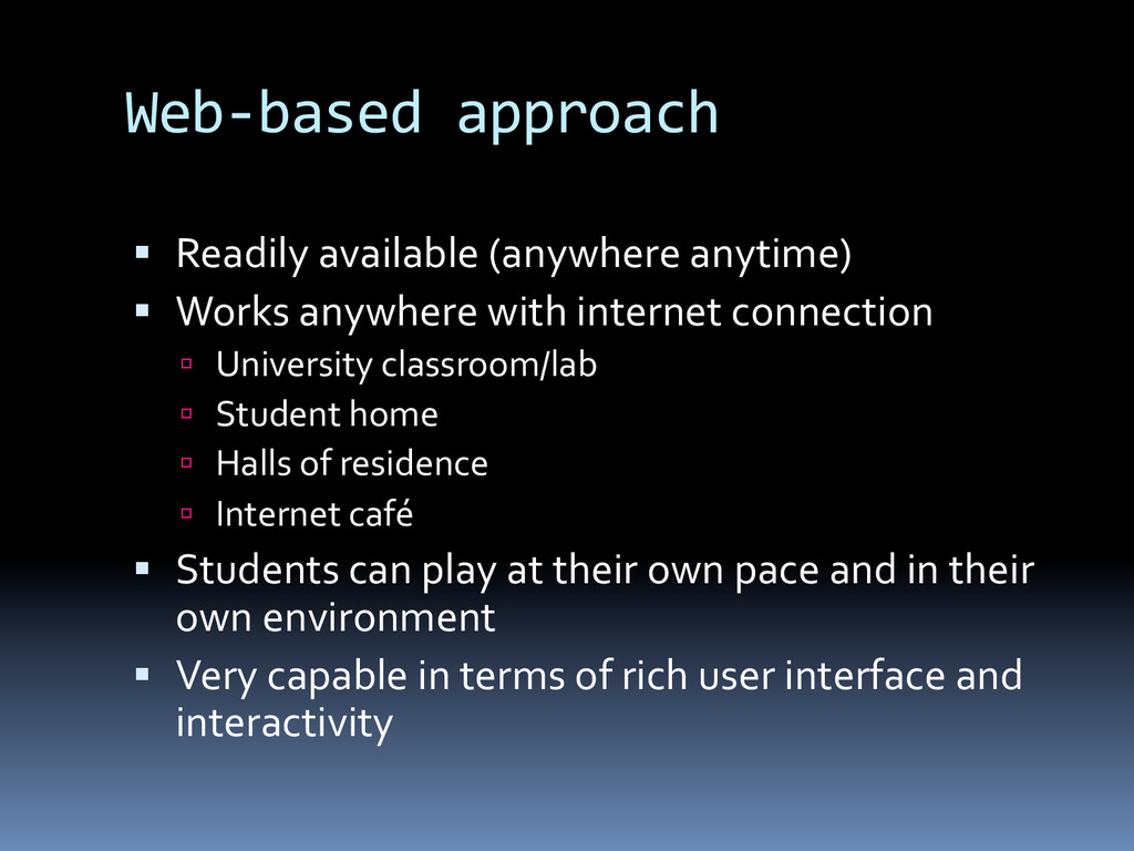 Web-­‐based	