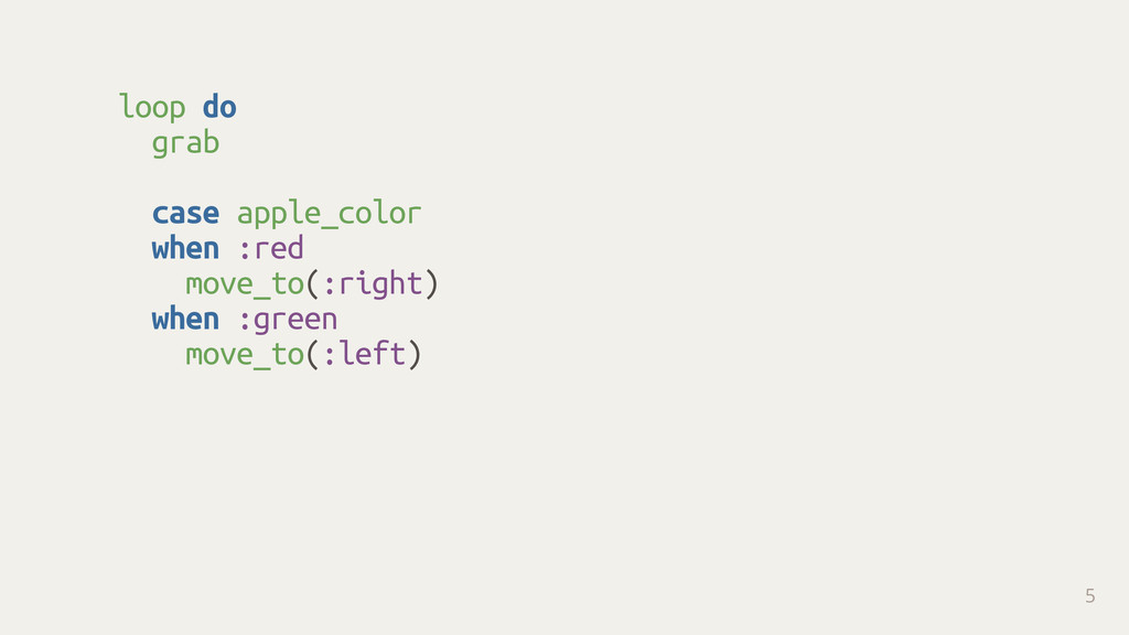 loop do grab