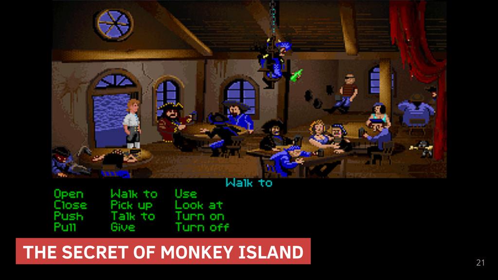 21 THE SECRET OF MONKEY ISLAND