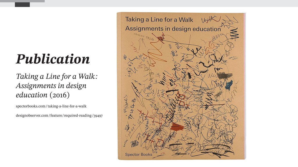 Publication Taking a Line for a Walk: Assignmen...