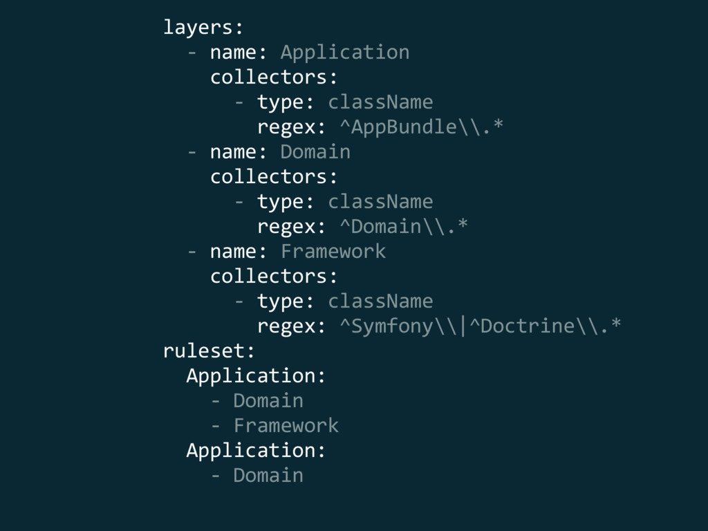 layers: