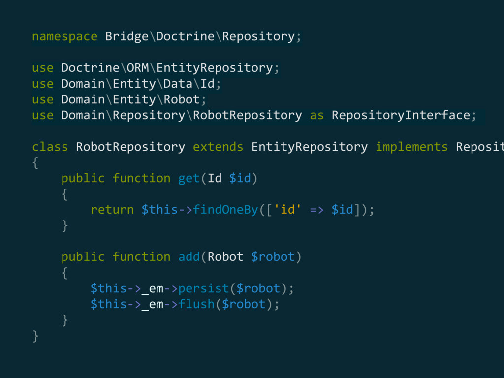 namespace Bridge\Doctrine\Repository;