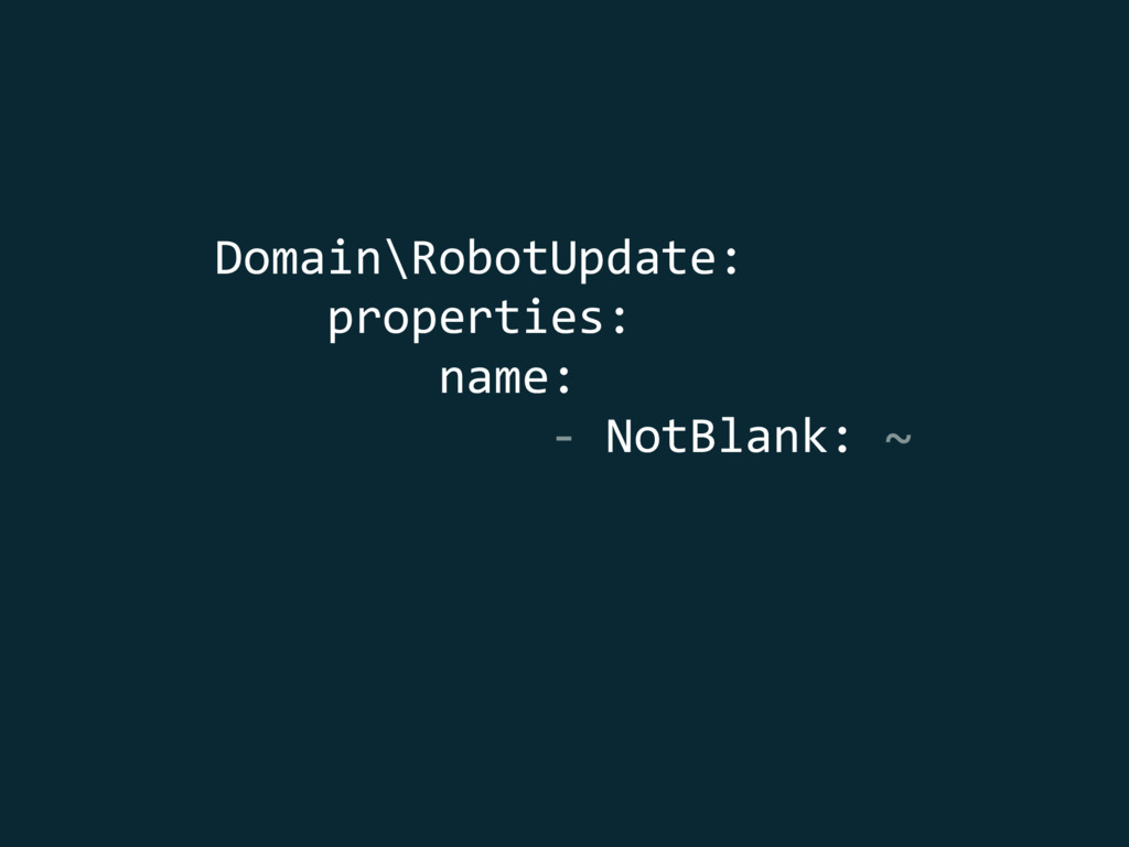 Domain\RobotUpdate: