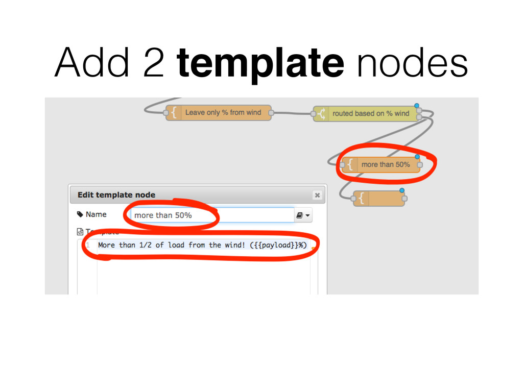 Add 2 template nodes