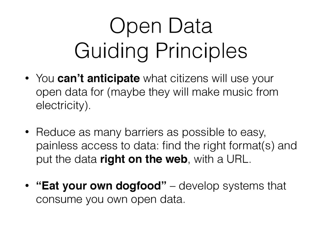 Open Data