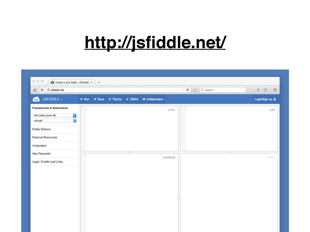 http://jsfiddle.net/