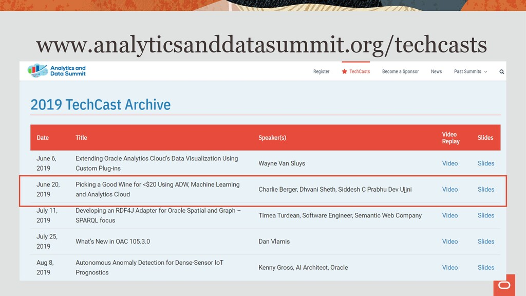 www.analyticsanddatasummit.org/techcasts