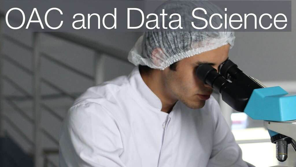 OAC and Data Science