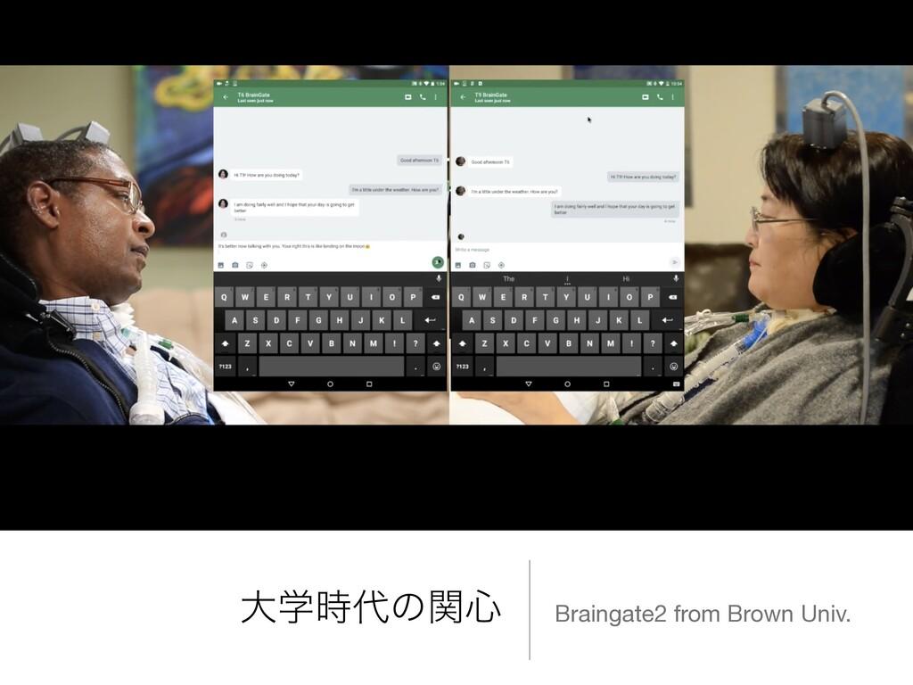 େֶͷؔ৺ Braingate2 from Brown Univ.
