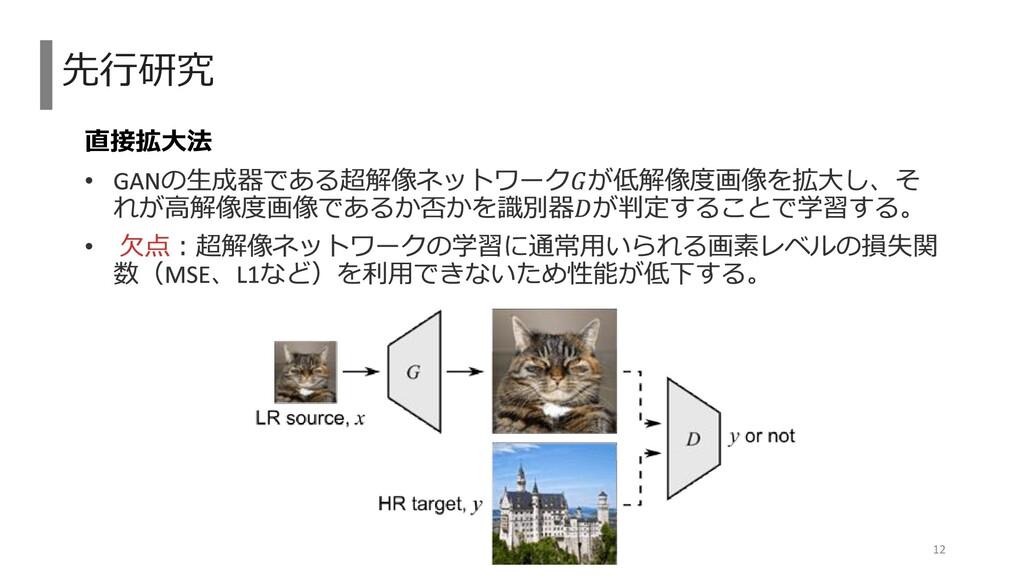 直接拡大法 先行研究 12