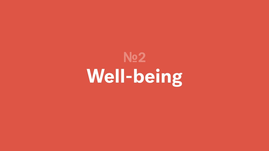 Well-being №2