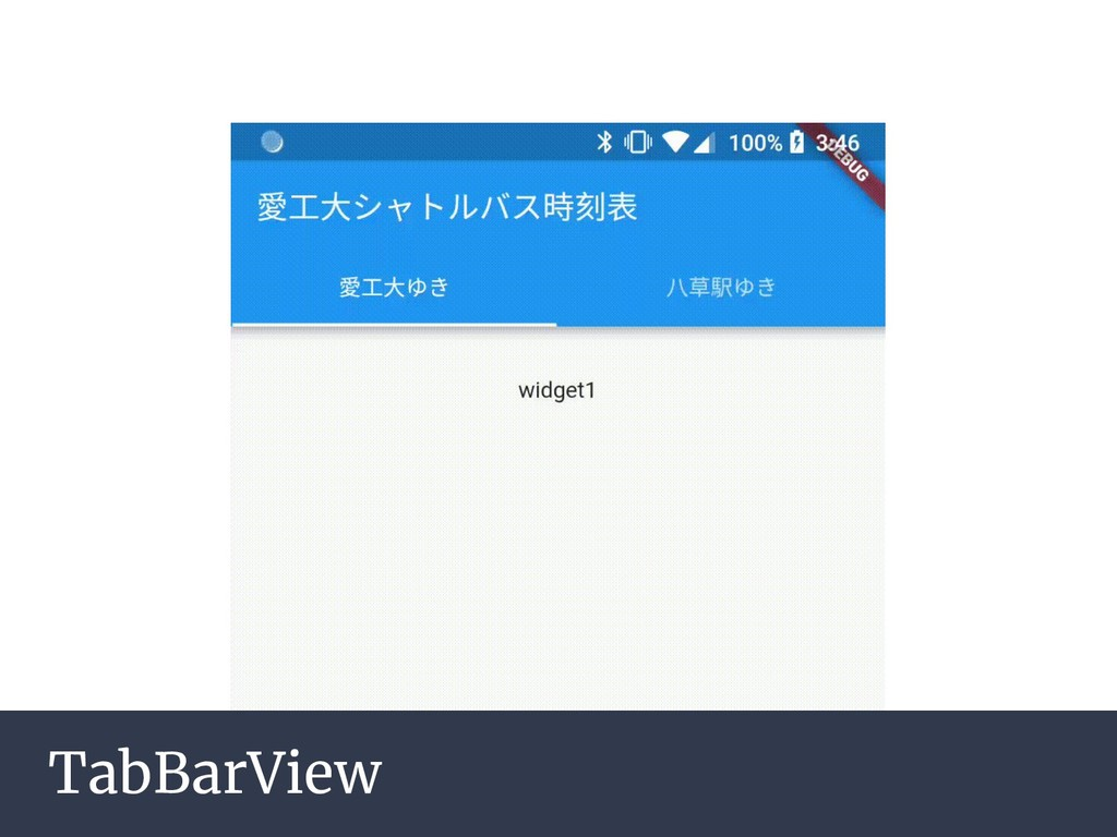 TabBarView