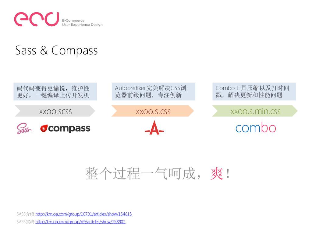 Sass & Compass xxoo.scss xxoo.s.css xxoo.s.min....