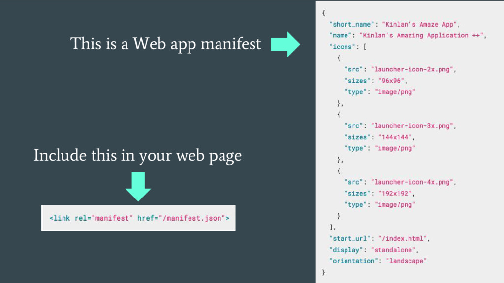Include this in your web page This is a Web app...