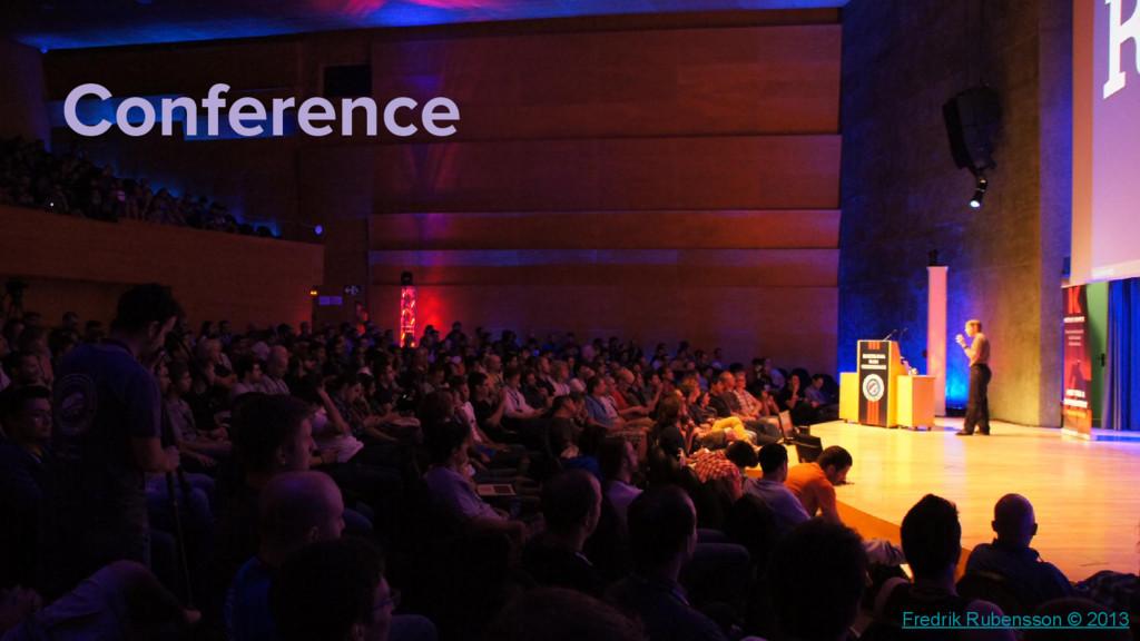 Fredrik Rubensson © 2013 Conference
