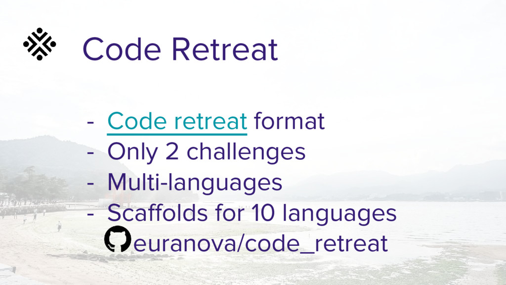 Code Retreat - Code retreat format - Only 2 cha...