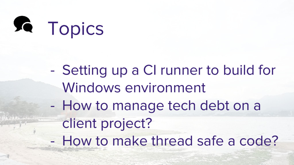 Topics - Setting up a CI runner to build for Wi...
