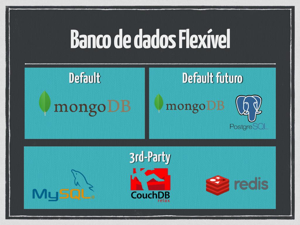 Banco de dados Flexível Default  Default futu...