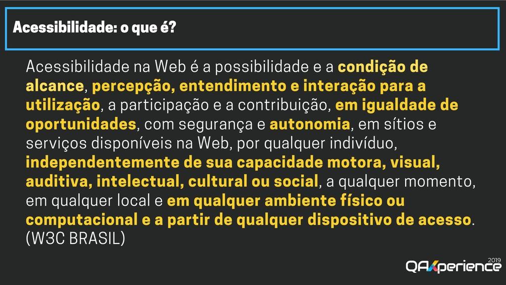 Acessibilidade: o que é? Acessibilidade na Web ...