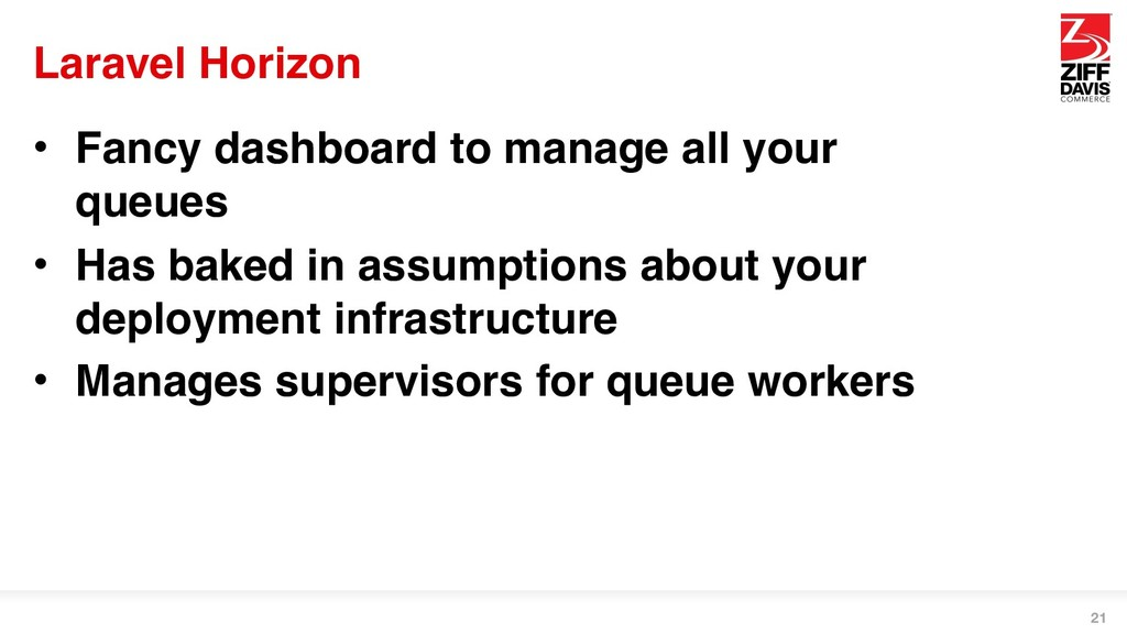 Laravel Horizon • Fancy dashboard to manage all...